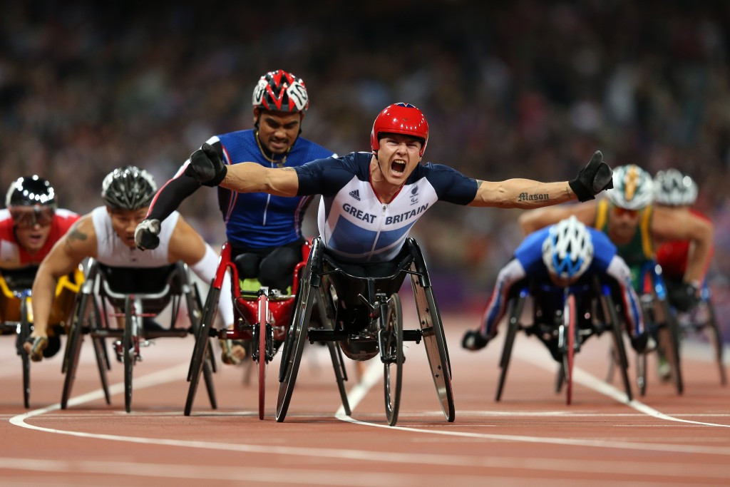 Britain's six-time Paralympic champion David Weir is among athletes to have expressed concerns about low numbers of spectators in comparison with London 2012 ©Getty Images