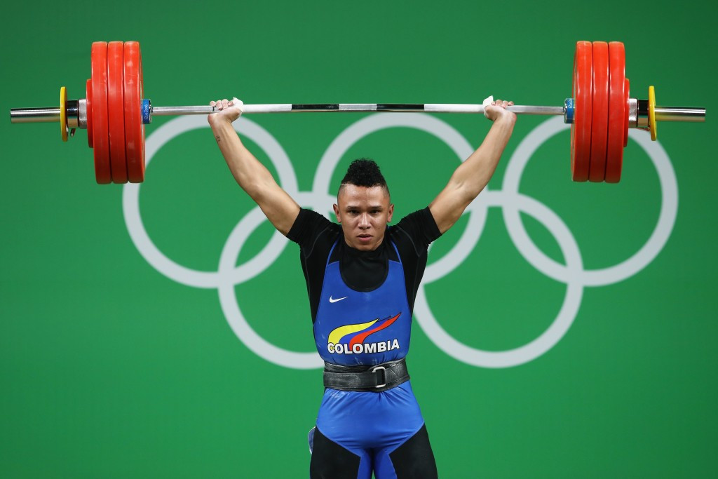 Luis Javier Mosquera is set to receive the bronze medal ©Getty Images