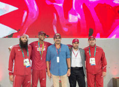 Qatar Olympic Committee hold celebration event for first-ever silver medallist