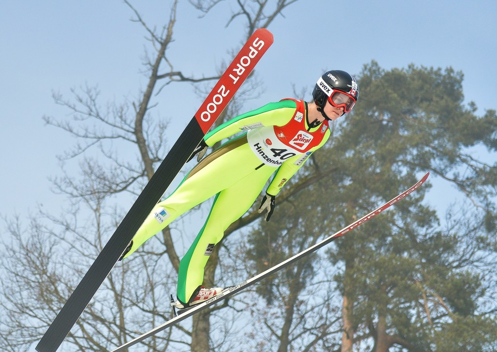 Taylor Henrich is one of the leading Canadian ski jumpers ©Getty Images