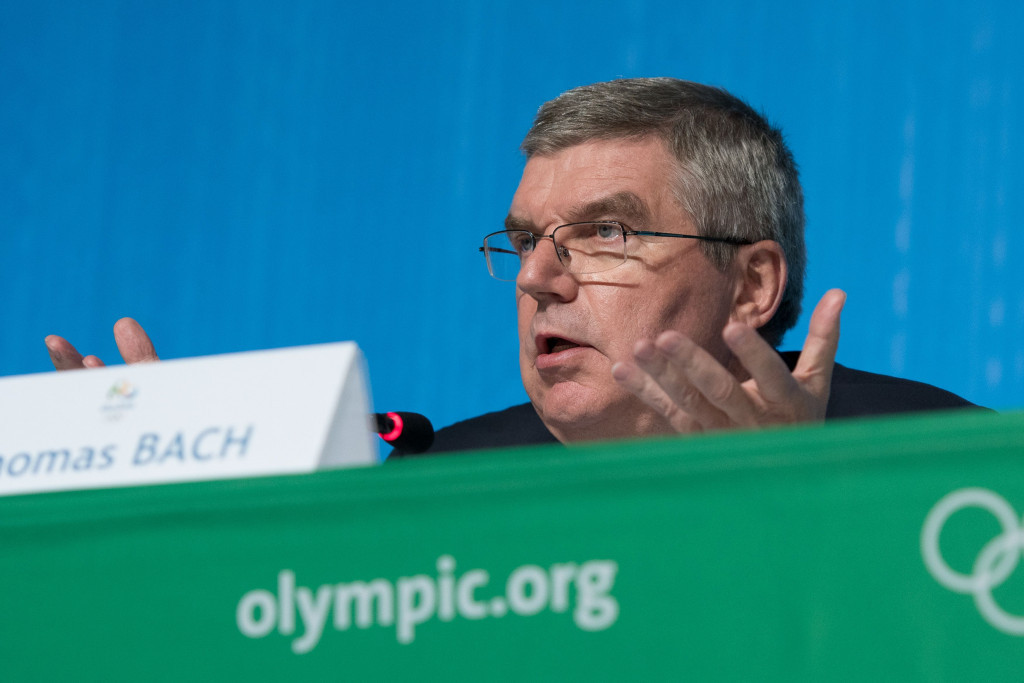 """Thomas Bach claimed Rio 2016 had been an """"iconic"""" Games ©Getty Images"""
