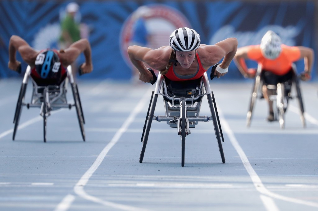 Tatyana McFadden will be expected to star for the American team in Rio ©Getty Images