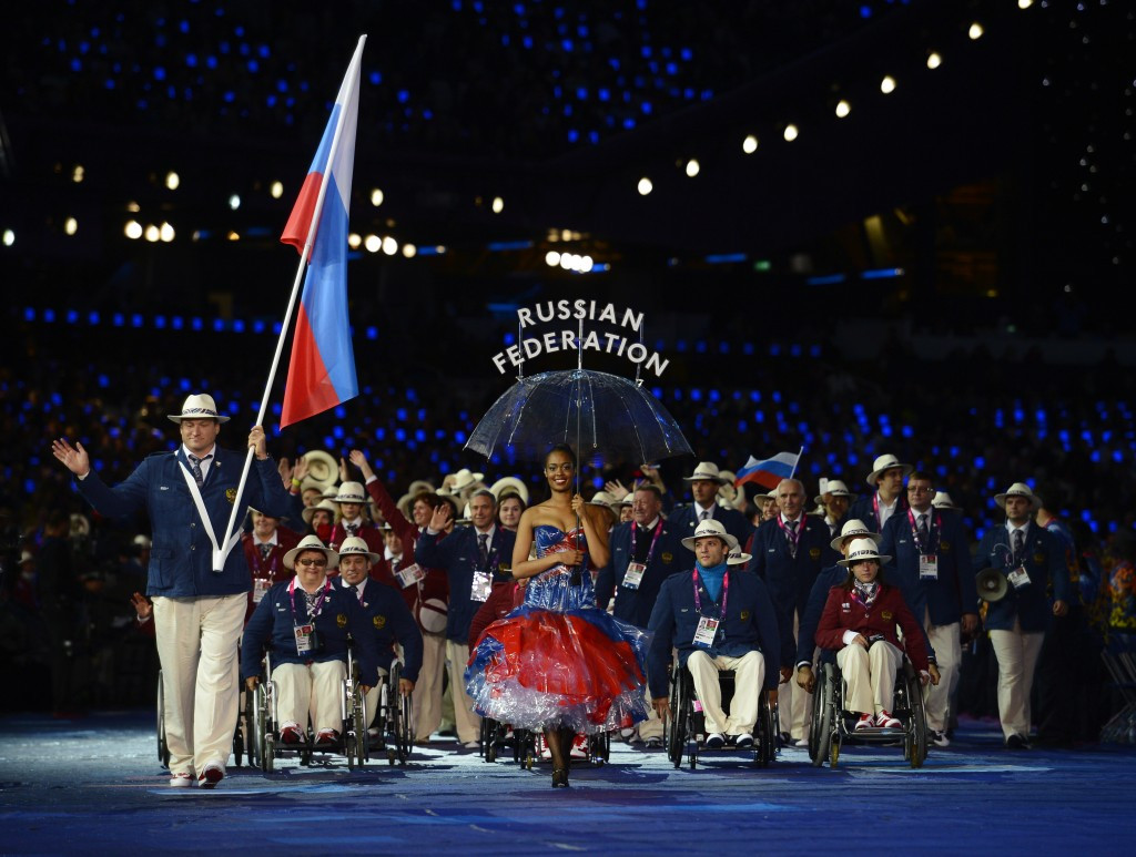 Russia will not compete at the Rio 2016 Paralympic Games ©Getty Images