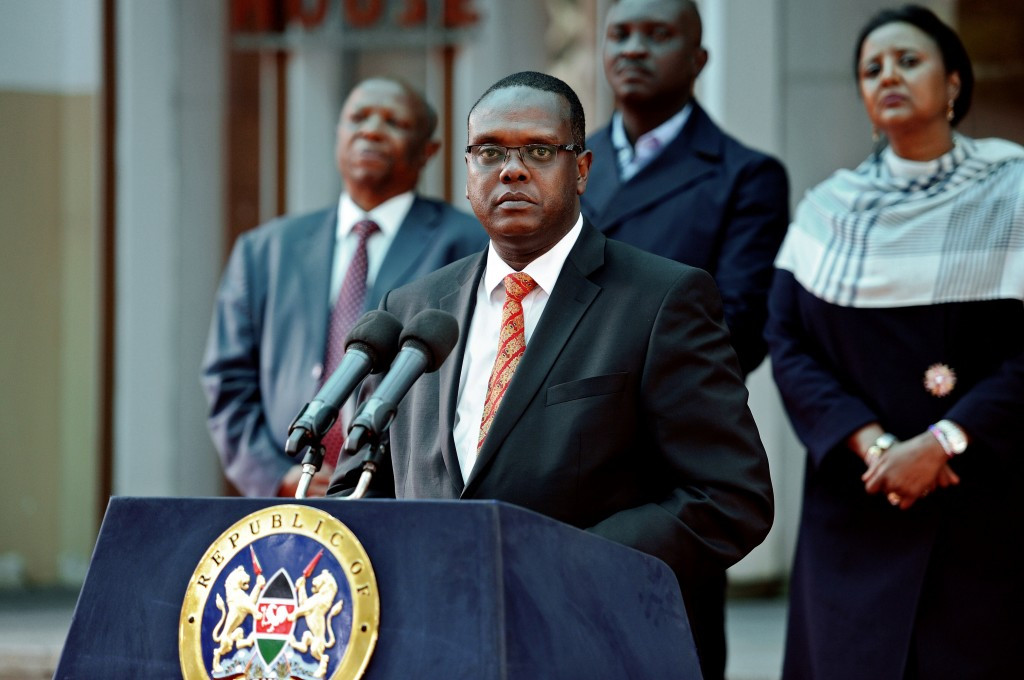 Kenyan Sports Minister Hassan Wario announced the NOCK had been disbanded last week ©Getty Images