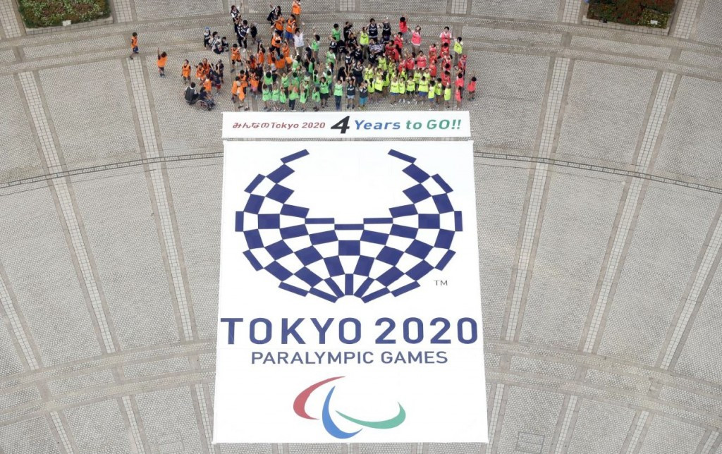 Tokyo 2020 hold public events to mark four years to go to Paralympic Games