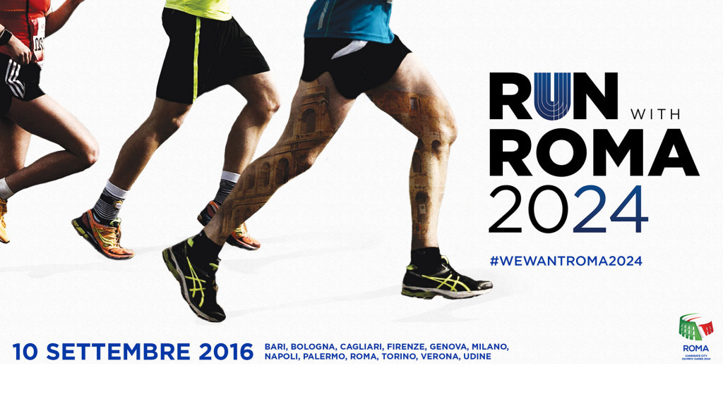 """Proceeds from """"Run with Rome 2024"""" to be donated to earthquake relief effort in attempt to boost bidding support"""