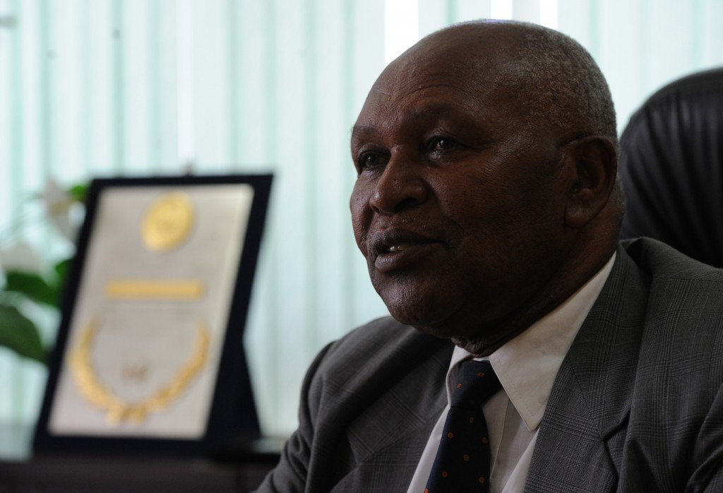 Kip Keino has filed a court case protesting the disbandenment of the NOCK ©NOCK