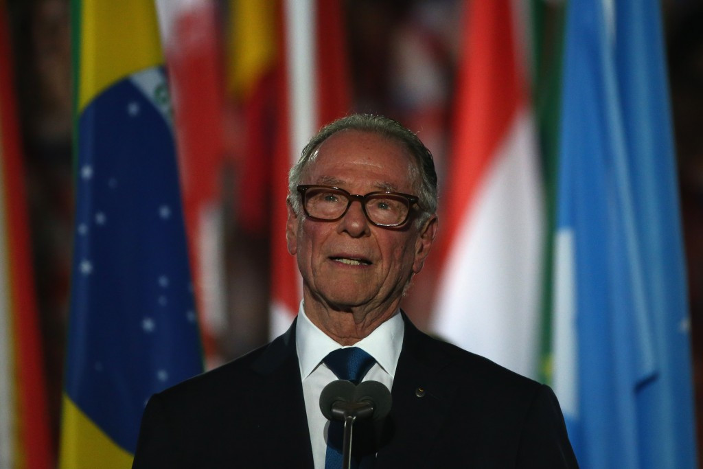 Rio 2016 President Carlos Nuzman was greeted with a chorus of boos whenever he referred to the Government ©Getty Images
