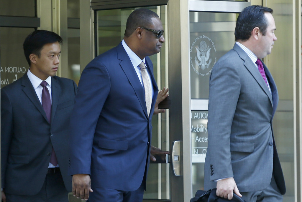 The Cayman Islands Jeffrey Webb pleaded guilty to several corruption charges at the United States District Court in New York City in November and has now been banned for life from FIFA ©Getty Images