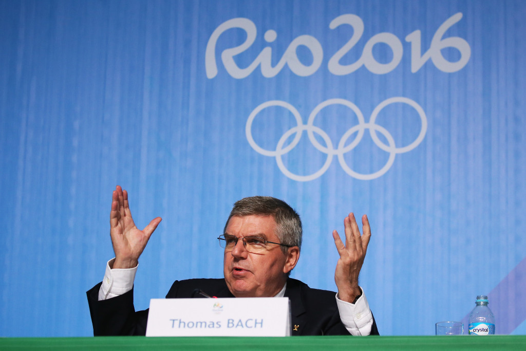 Brazilian authorities have not made any approach to speak to IOC President Thomas Bach, it has been claimed ©Getty Images