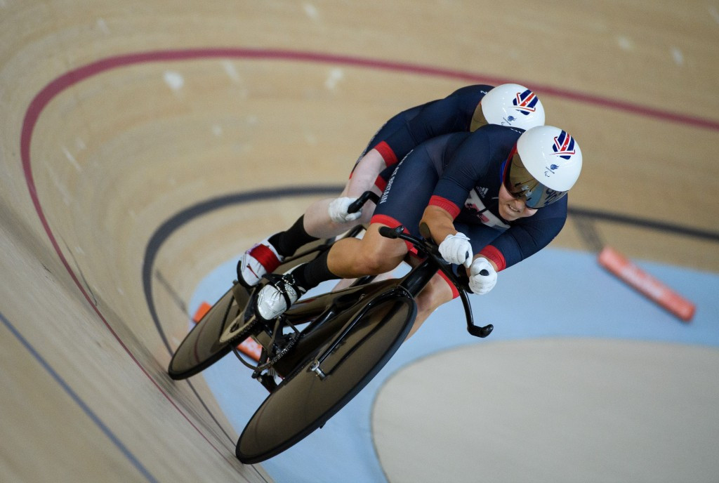 Sophie Thornhill and Helen Scott triumphed in the women's B 1000m time trial ©Getty Images