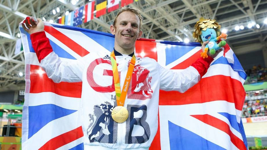 Jody Cundy claimed the sixth Paralympic gold medal of his career ©British Cycling