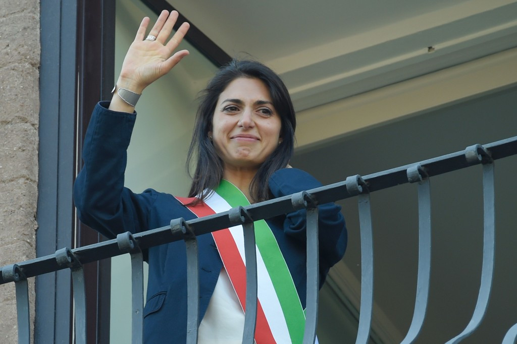 Rome Mayor Virginia Raggi and the City Council have voted against the bid ©Getty Images
