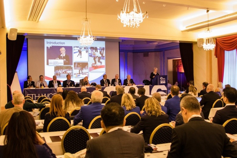 New appointments were made and events awarded during the WCF General Assembly ©WCF