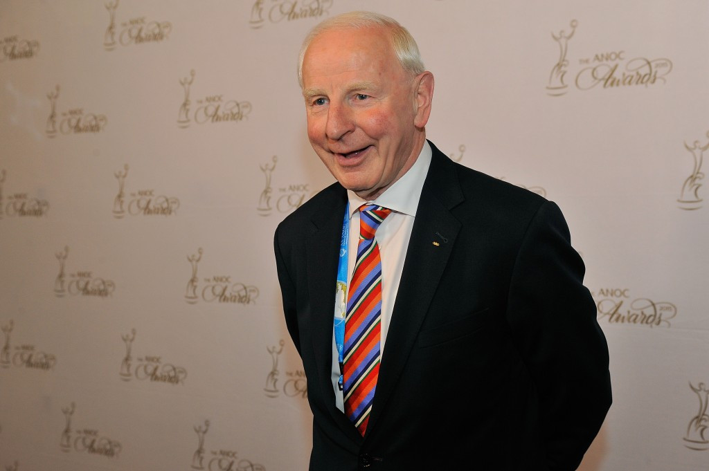 """Patrick Hickey has vowed to """"vigorously defend his good name"""" with police in Rio releasing alleged e-mails ©Getty Images"""