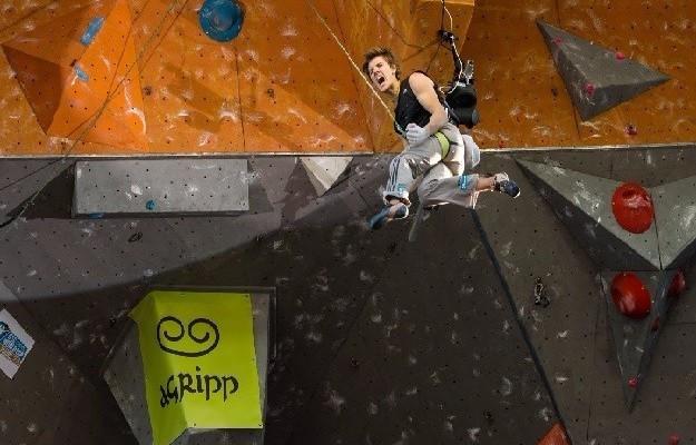 Slovenian Domen Škofič will bid to end Adam Ondra of the Czech Republic's attempt at yet more history at the World Championships ©IFSC