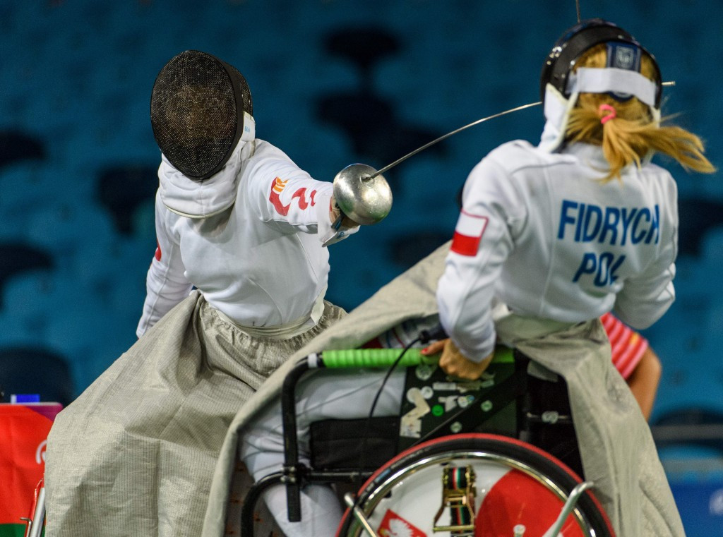 China's wheelchair fencers mirrored their country's utter dominance at the summit of the Paralympic Games medal table by securing three of the four titles on offer ©Getty Images