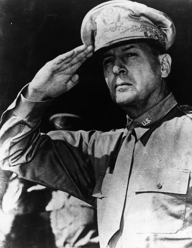 Major-General Douglas MacArthur prevented a United States protest withdrawal from the 1928 Olympic boxing competition in Amsterdam with three words: