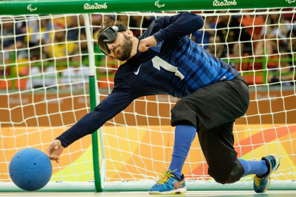 Lithuania and Turkey take gold as goalball action concludes at Rio 2016 Paralympics