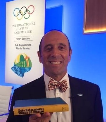 ISA President Fernando Aguerre is confident that conditions will be fine for surfing's Olympic debut at Tokyo 2020 ©ISA