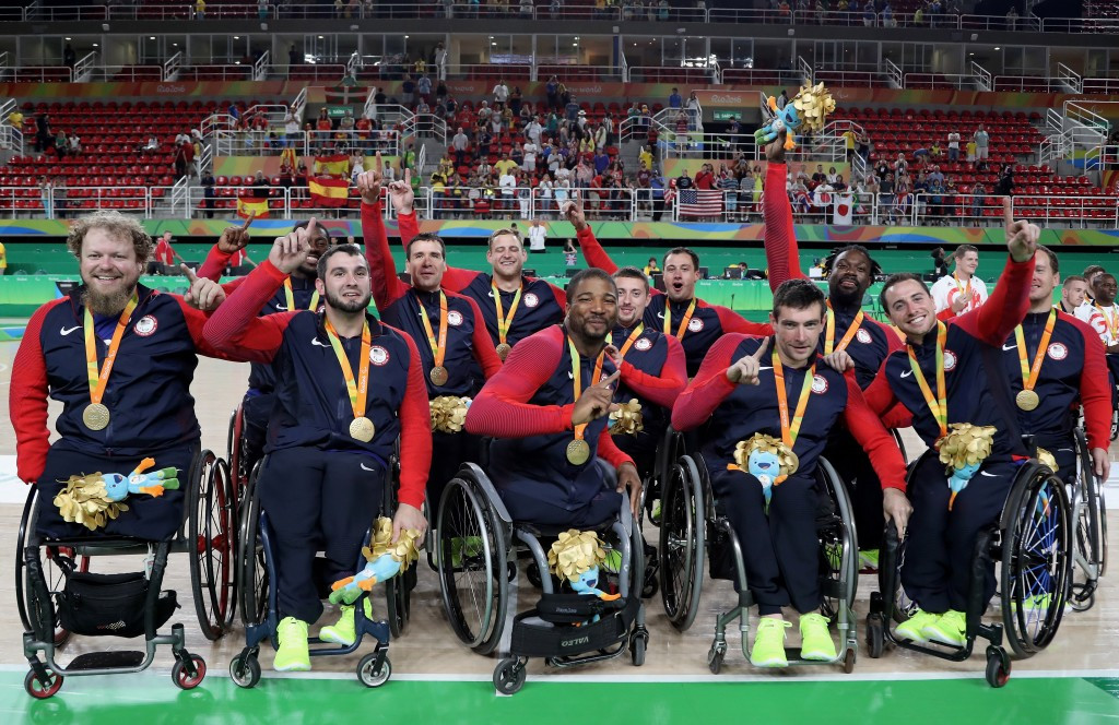 The US completed an Olympic and Paralympic basketball clean sweep ©Getty Images