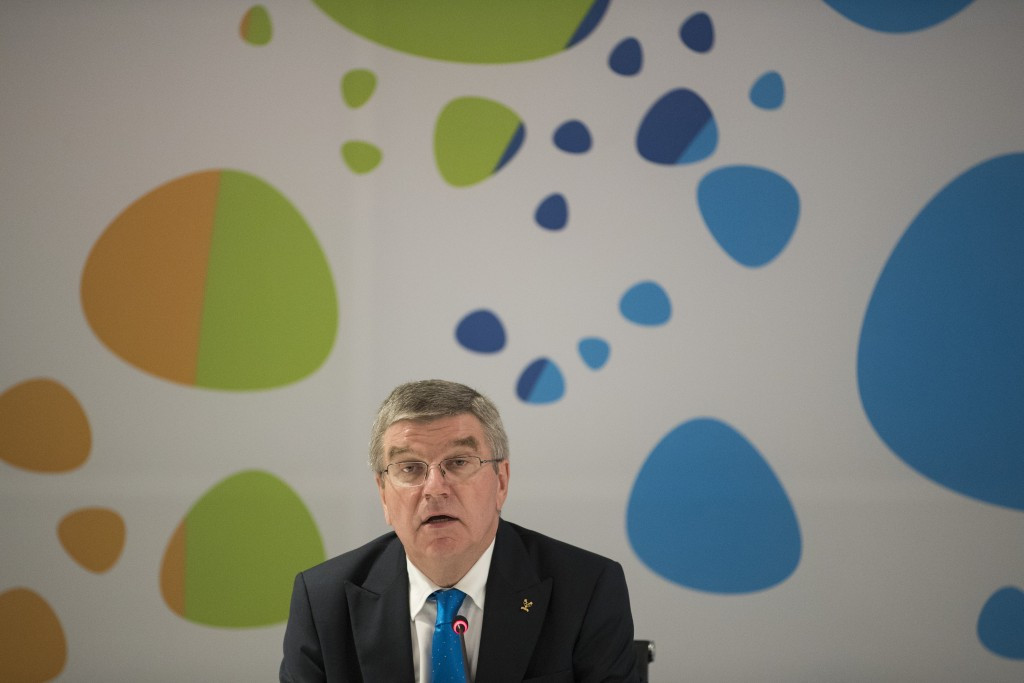 Thomas Bach has called for everyone to work together to combat the Russian doping allegations ©Getty Images