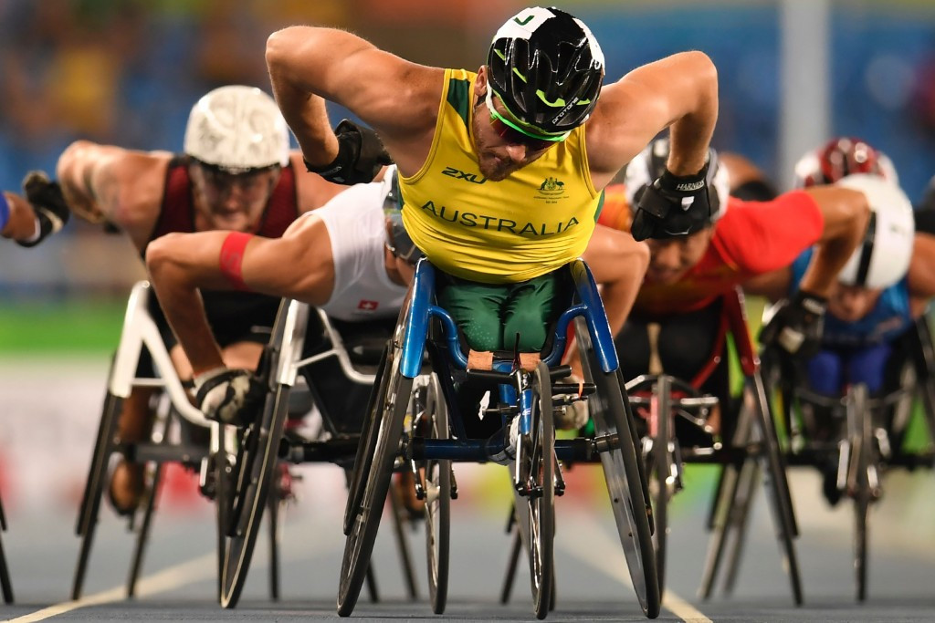 Australian wheelchair racer Kurt Fearnley has been elected to the IPC Athletes Council ©Getty Images