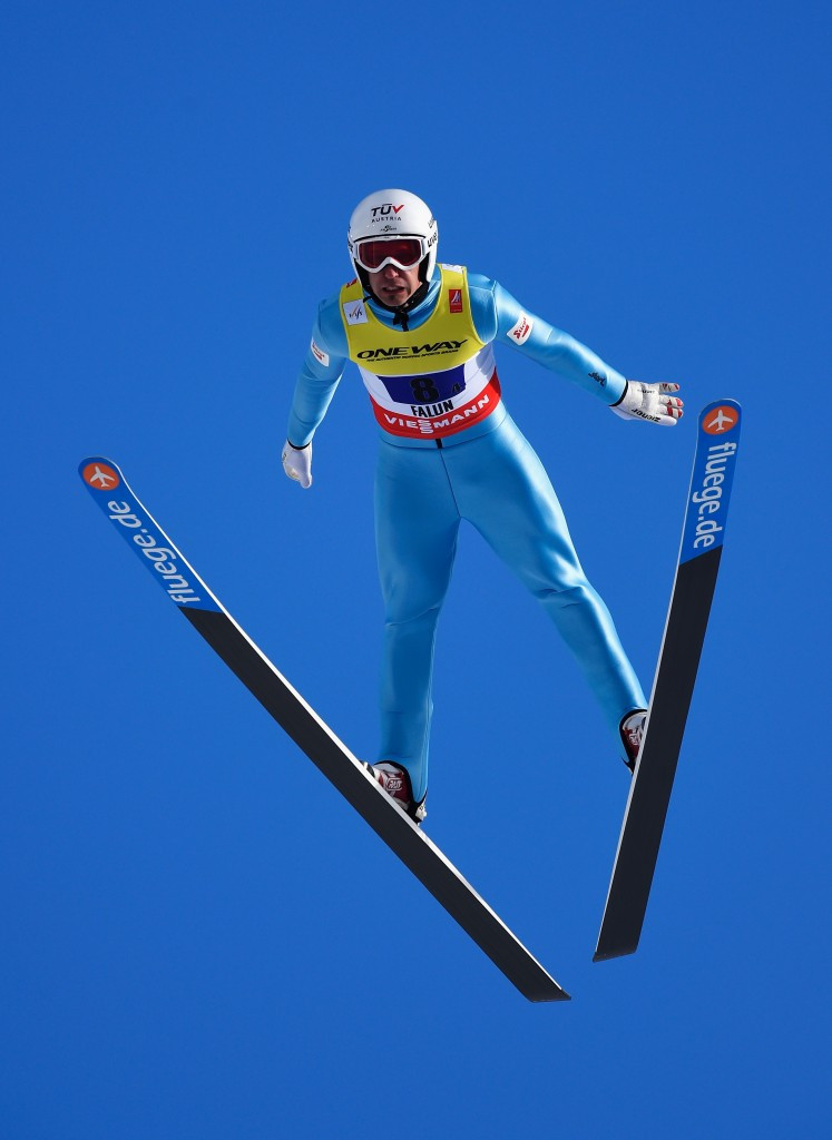 Lukas Klapfer won an Olympic bronze medal at Sochi 2014 ©Getty Images