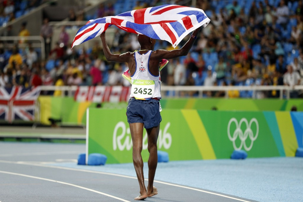 Mo Farah is among the latest group of athletes to be targeted by Fancy Bears ©Getty Images