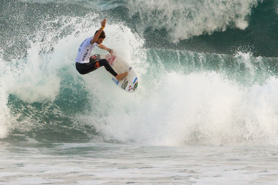 The excitement at the IOC decision is clearly visible among those competing in the Atlantic this week ©ISA