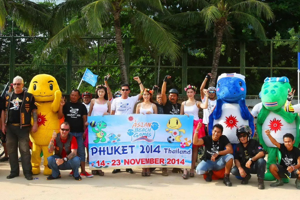 The fourth Asian Beach Games were held in Phuket in 2014 but the OCA could introduce a four-year cycle ©Phuket 2014
