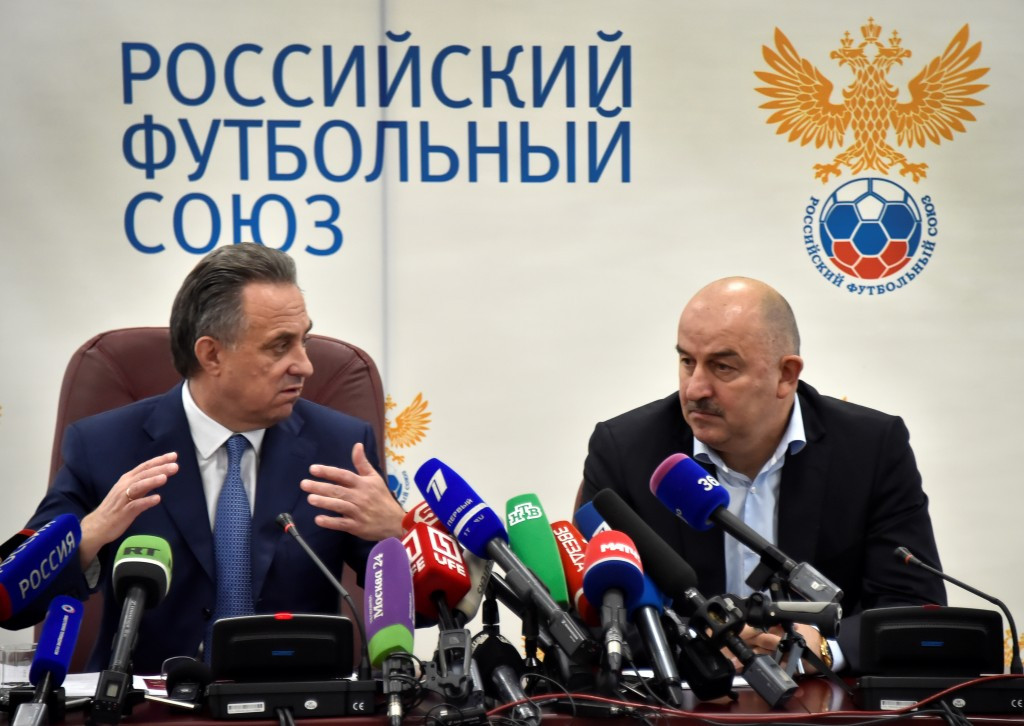 The RNFC believe Vitaly Mutko (left) should not be able to stand for re-election as RFU President ©Getty Images