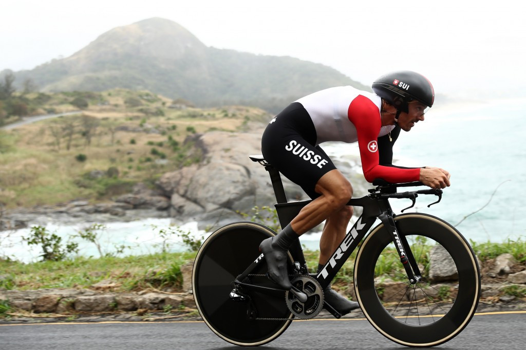 Olympic time trial champion Fabian Cancellara is among the athletes targeted in the latest leak ©Getty Images