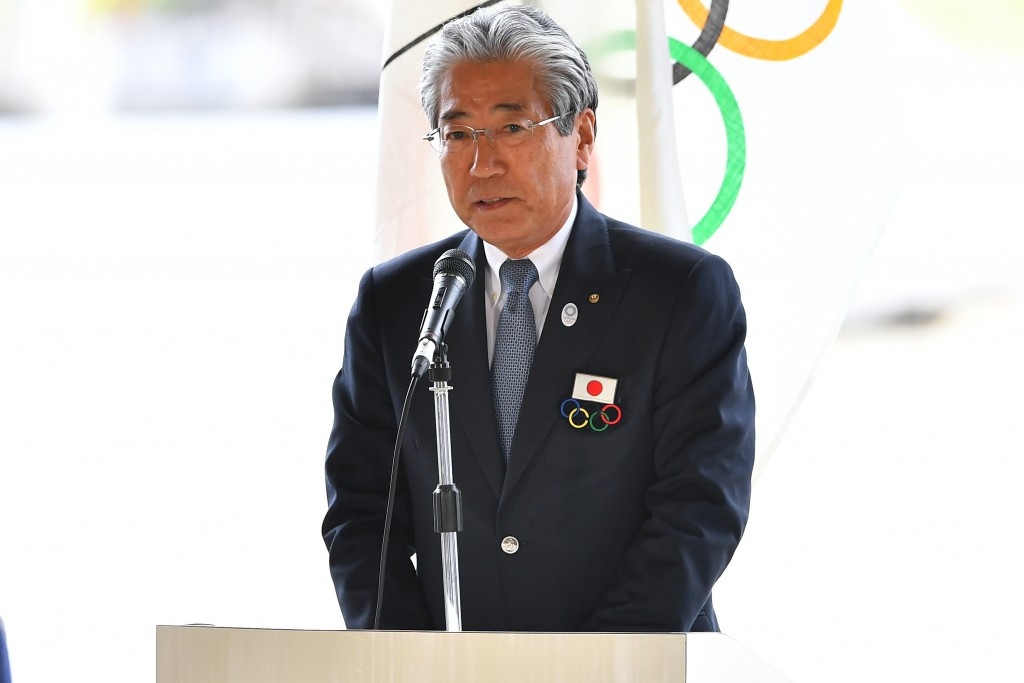 Japanese Olympic Committee President Tsunekazu Takeda was among those to praise the two cities today ©Getty Images