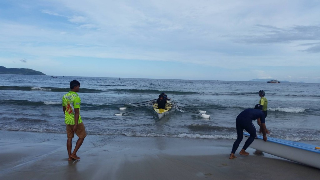 Coastal rowing is another innovative event on the Asian Beach Games programme ©ITG