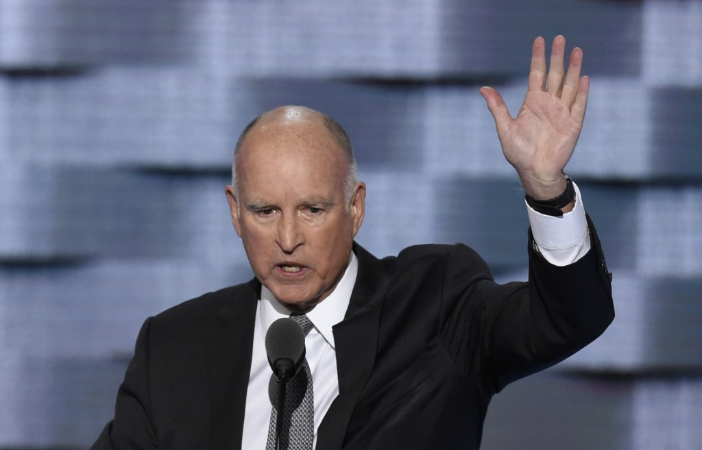 California Governor Jerry Brown signed the bill into law today ©Getty Images