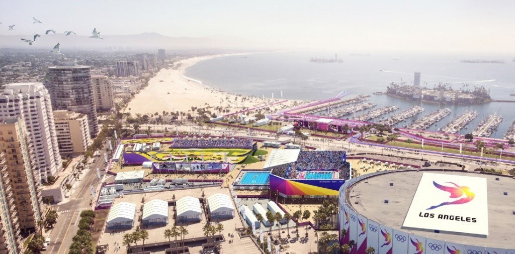 Los Angeles 2024 are confident they will not require the money, but believe it highlights the strong political backing their bid has ©LA 2024