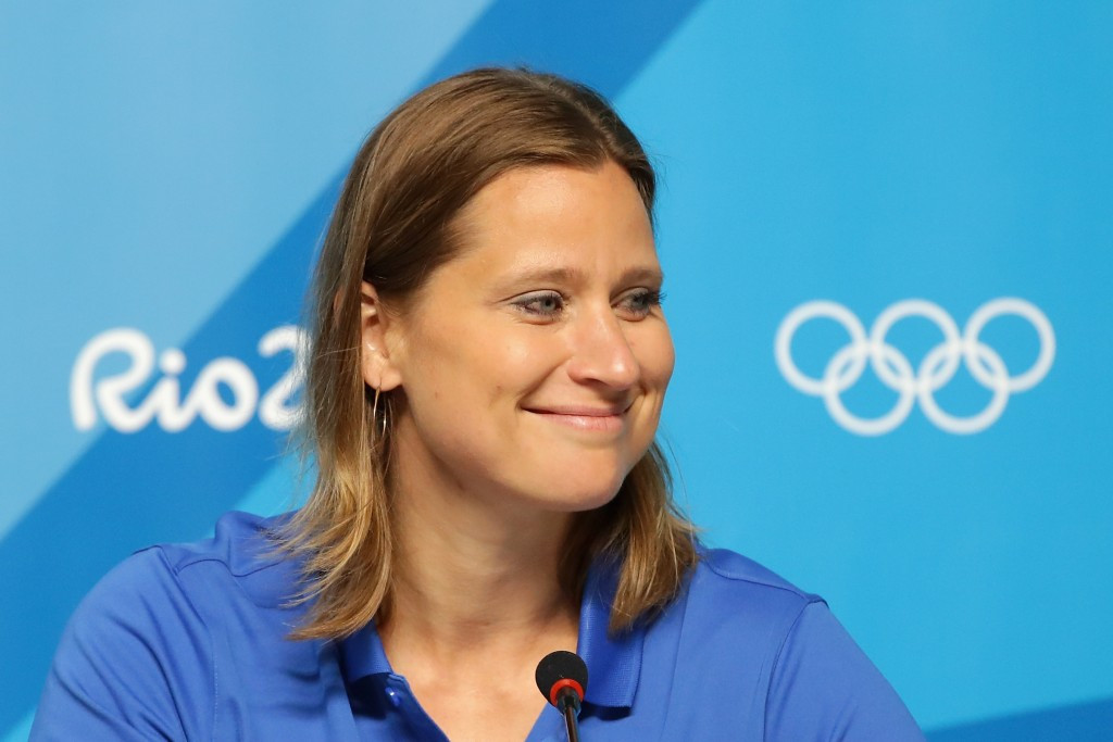 """IOC Athletes' Commission chair Angela Ruggiero has said the body """"strongly condemns"""" the cyber-attack that led to the publication of athletes' confidential medical information from the Anti-Doping Administration & Management System run by WADA ©Getty Imag"""