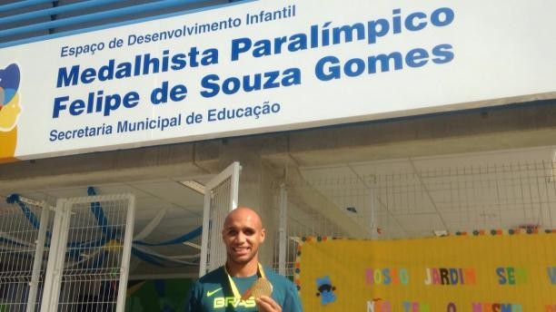 Three Rio schools named after Brazilian Paralympians