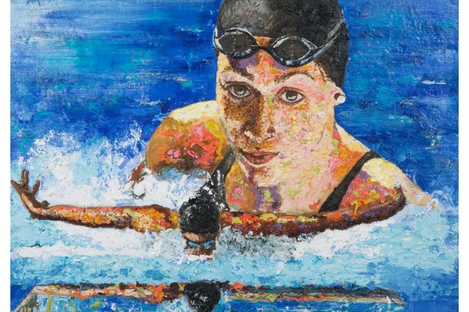 Paralympics New Zealand put Spirit of Gold paintings up for sale after Rio 2016 success
