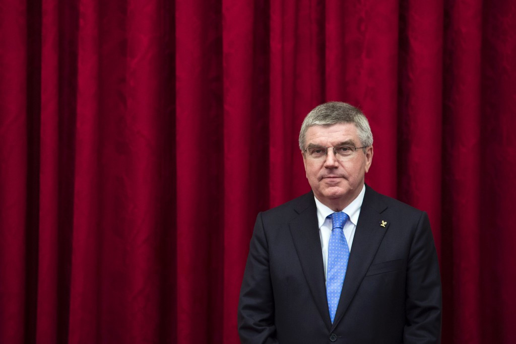 Thomas Bach is among those to offer their congratulations to Donald Trump ©Getty Images