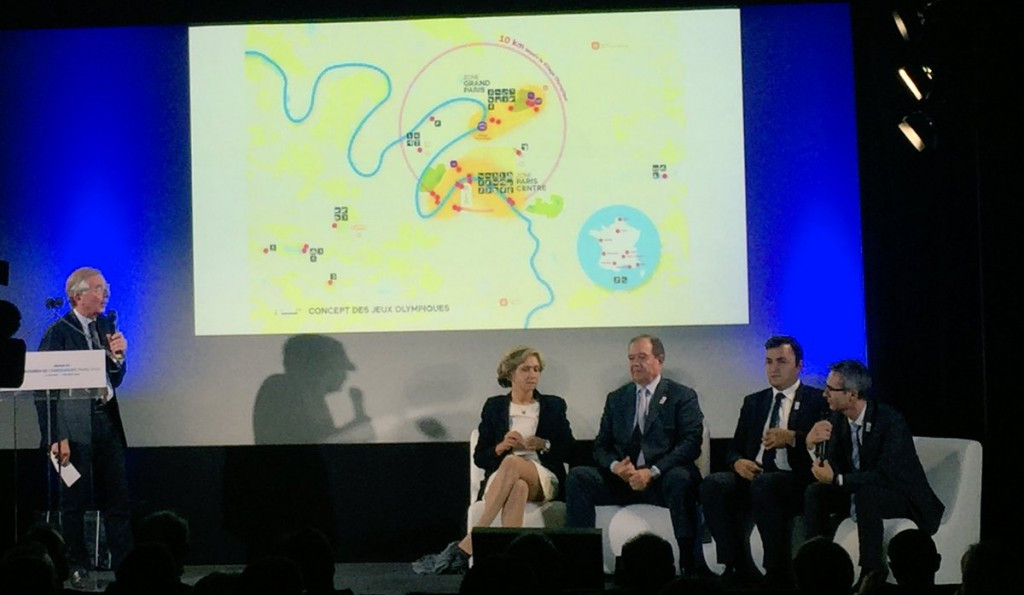 Paris 2024 have claimed their venue plan makes their bid a responsible and sustainable proposal ©Paris 2024