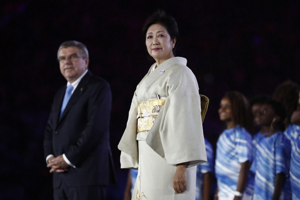 Plans are being drawn up for Tokyo Governor Yuriko Koike to meet IOC President Thomas Bach later this month ©Getty Images