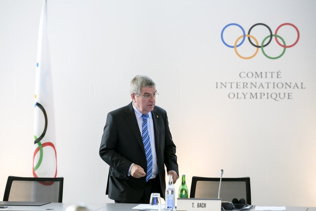 IOC President Thomas Bach has claimed they will discuss the report commissioned by Tokyo Governor Yuriko Koike in a constructive way after it warned that costs for the 2020 Olympics and Paralympics could balloon ©Getty Images