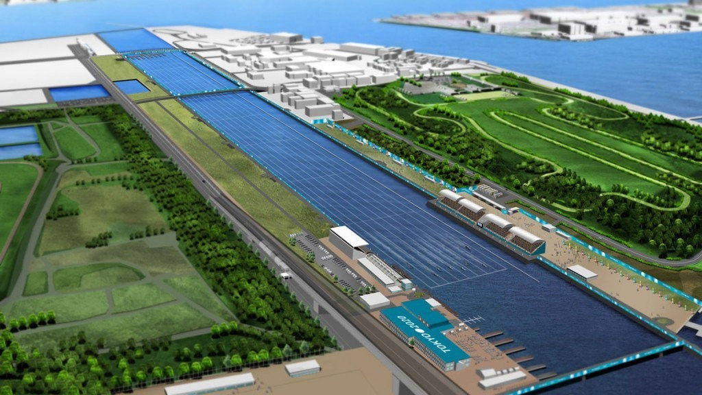 Rowing is currently due to take place at the Sea Forest venue but Tokyo 2020 may move it 400 kilometres away to help keep the budget down ©Tokyo 2020