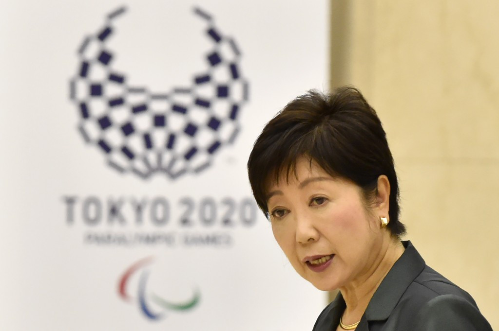 Tokyo 2020 officials and Tokyo Governor Yuriko Koike held separate meetings with the Miyagi Governor today ©Getty Images