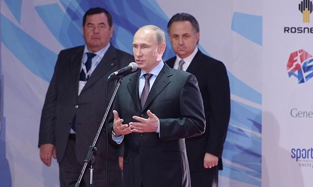 Putin calls for maximum effort to get sambo recognised as Olympic sport