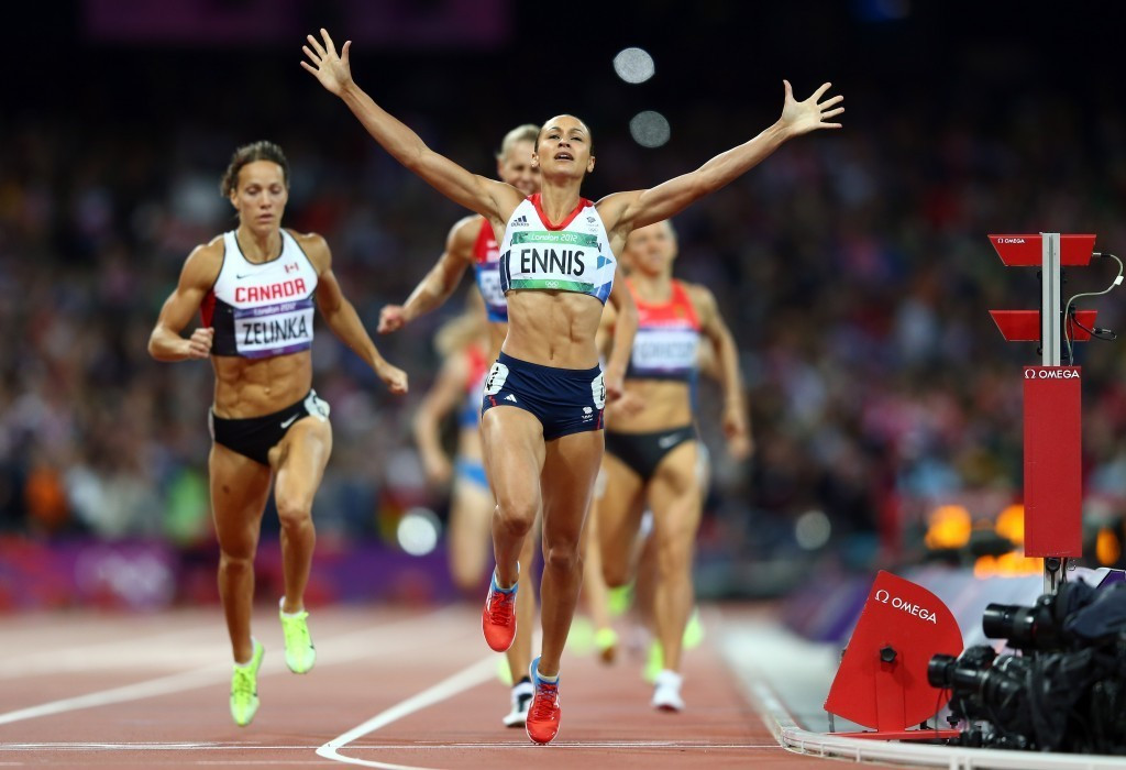Jessica Ennis-Hill is regarded as one of Britain's greatest-ever athletes ©Getty Images