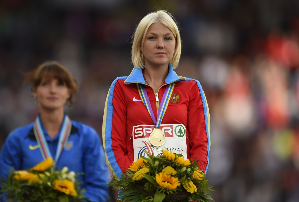 Elmira Alembekova is among those to have been formally banned by CAS ©Getty Images