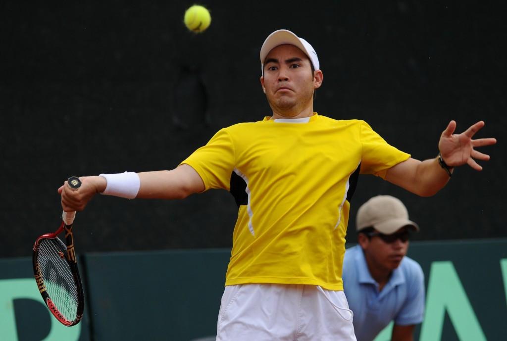 Daniel Garza represented Mexico in the Davis Cup ©Getty Images